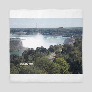 Horseshoe Falls, Niagara Falls Queen Duvet