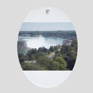 Horseshoe Falls, Niagara Falls Oval Ornament