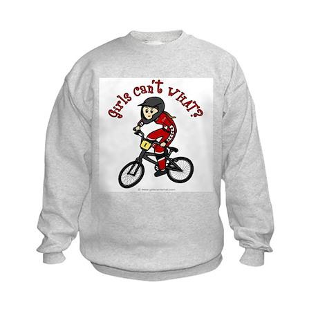 (light) Dirt Diva BMX Kids Sweatshirt