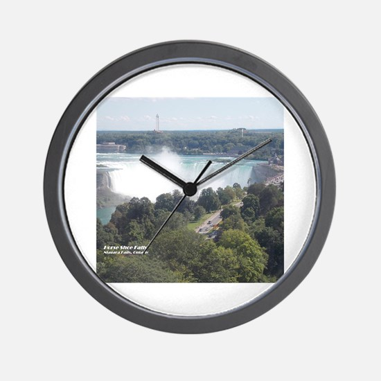 Cute Niagara falls Wall Clock