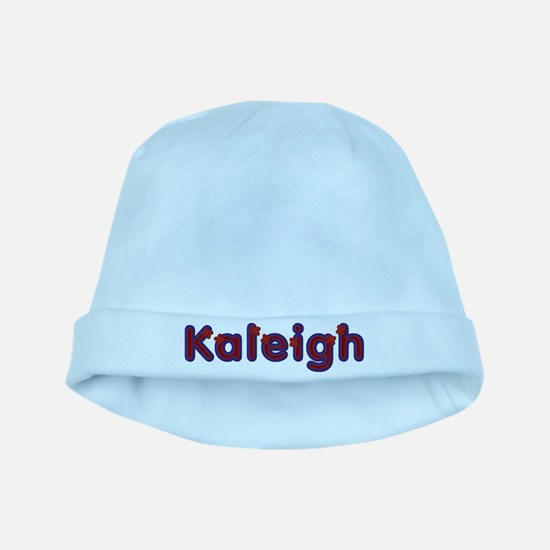 Kaleigh Red Caps baby hat