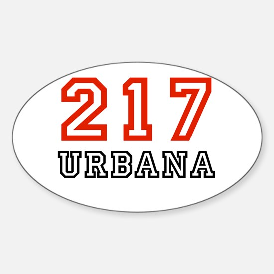 217 Oval Decal