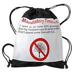 timeoutf_10x8.png Drawstring Bag