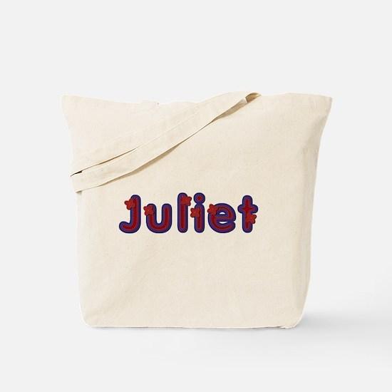 Juliet Red Caps Tote Bag
