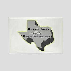 Marfa Area Border Surveillance Rectangle Magnet