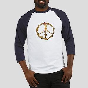 Points Peace Baseball Jersey