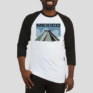 Mexico Pyramid Baseball Jersey