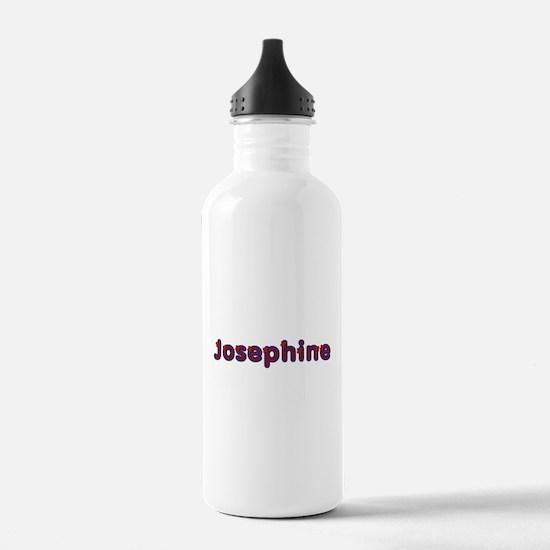 Josephine Red Caps Water Bottle
