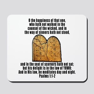 Law of YHWH Mousepad