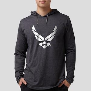 U.S. Air Force Logo Mens Hooded Shirt