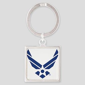 U.S. Air Force Logo Square Keychain