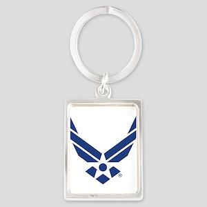 U.S. Air Force Logo Portrait Keychain
