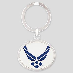 U.S. Air Force Logo Oval Keychain