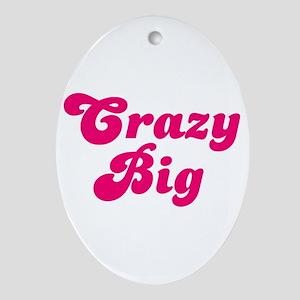 Crazy Big Ornament (Oval)