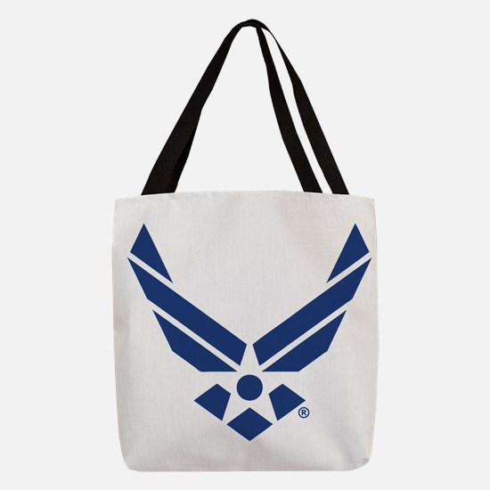 U.S. Air Force Logo Polyester Tote Bag