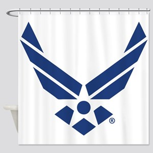 U.S. Air Force Logo Shower Curtain