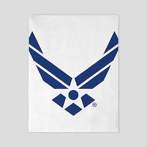 U.S. Air Force Logo Twin Duvet Cover