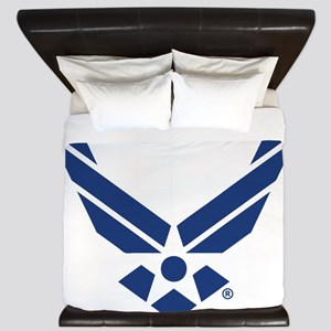U.S. Air Force Logo King Duvet
