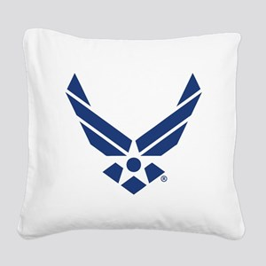 U.S. Air Force Logo Square Canvas Pillow