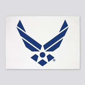 U.S. Air Force Logo 5'x7'Area Rug