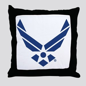 U.S. Air Force Logo Throw Pillow