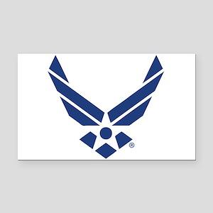 U.S. Air Force Logo Rectangle Car Magnet