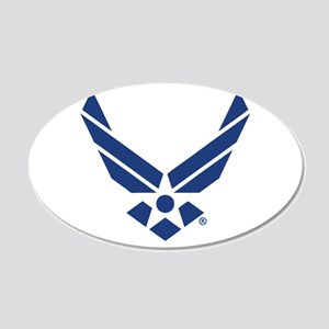 U.S. Air Force Logo 20x12 Oval Wall Decal