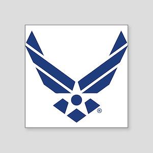 """U.S. Air Force Logo Square Sticker 3"""" x 3"""""""