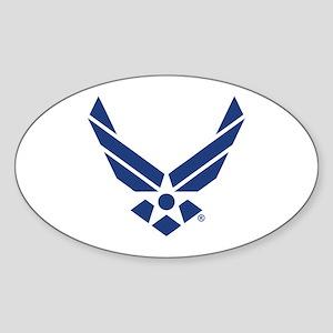 U.S. Air Force Logo Sticker (Oval)