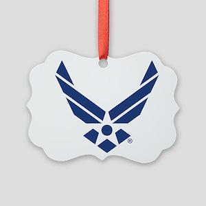 U.S. Air Force Logo Picture Ornament