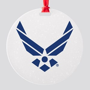 U.S. Air Force Logo Round Ornament