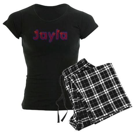 Jayla Red Caps Pajamas