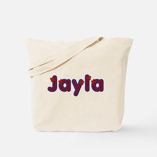 Jayla Red Caps Tote Bag