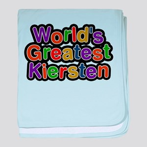 Worlds Greatest Kiersten baby blanket
