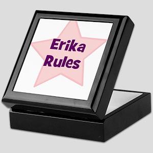 Erika Rules Keepsake Box