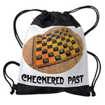 2-CHECKERED PAST.jpg Drawstring Bag