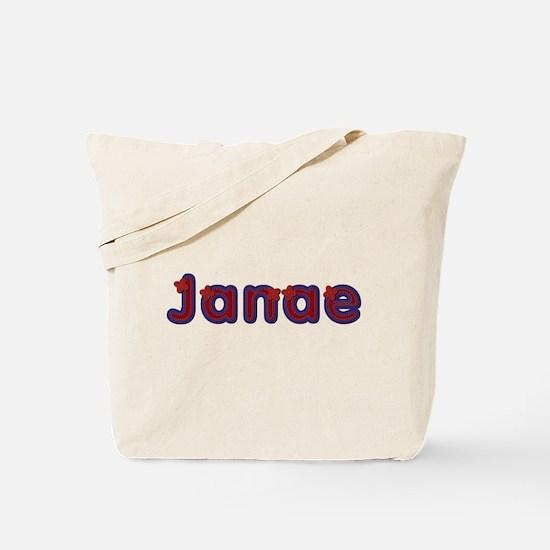 Janae Red Caps Tote Bag