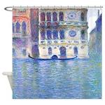 Monet Painting Palazzo Dario Shower Curtain