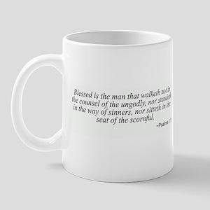 Psalms 1:1 Mug