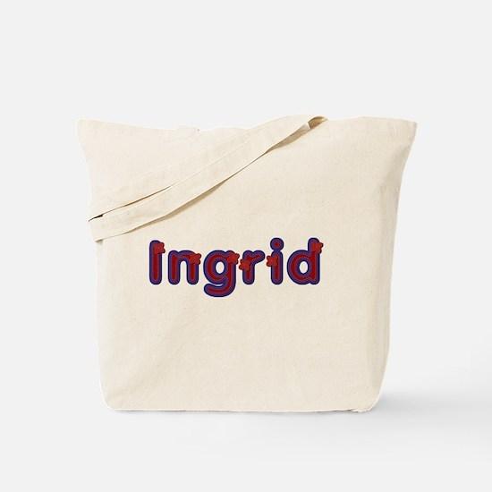 Ingrid Red Caps Tote Bag