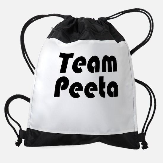 team peeta.png Drawstring Bag