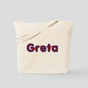 Greta Red Caps Tote Bag