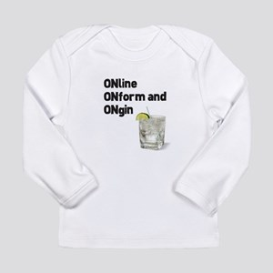 Online and On Gin Long Sleeve T-Shirt