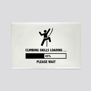Climbing Skills Loading Rectangle Magnet