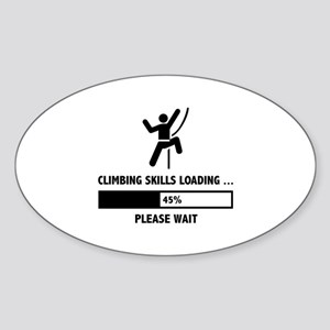 Climbing Skills Loading Sticker (Oval)