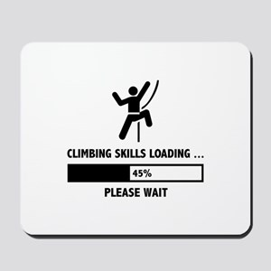 Climbing Skills Loading Mousepad