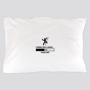 Climbing Skills Loading Pillow Case