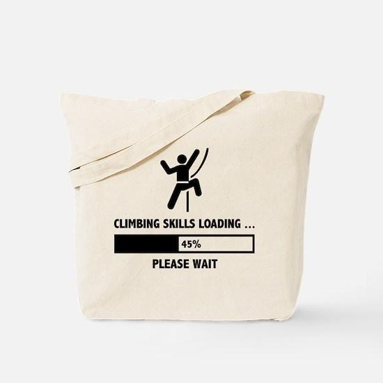 Climbing Skills Loading Tote Bag