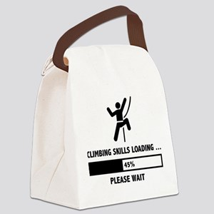 Climbing Skills Loading Canvas Lunch Bag