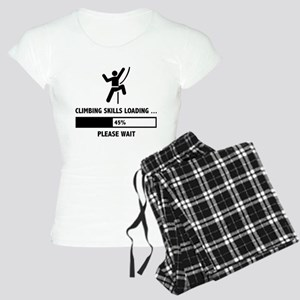 Climbing Skills Loading Women's Light Pajamas
